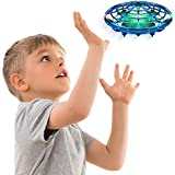 Hand Operated Drones for Kids or Adults - Scoot Hands Free Mini Drone Helicopter, Easy Indoor Small Orb Flying Ball Drone Toys for Boys or Girls