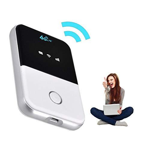 春の屋ルーター 無線 wifiルーター WiFi 4G モバイルwifi キャリーオンルーター ミニルーター 車内用 SIMサポート いつでもどこでもWiFi 4G 3.000 metros 4G / 3G モバイルルーター (ブラック)
