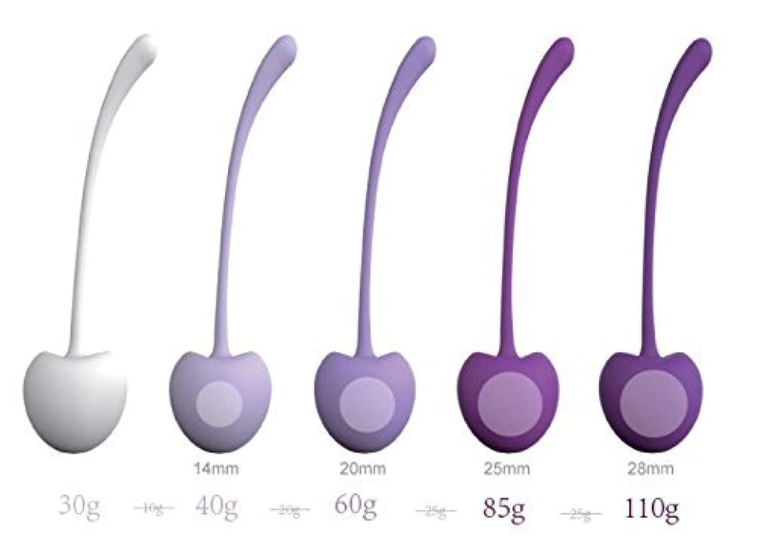 麻酔薬しない遵守する大人のおもちゃの初心者のための女性と産後の母親のために設計されたケーキボールダンベル(5個)