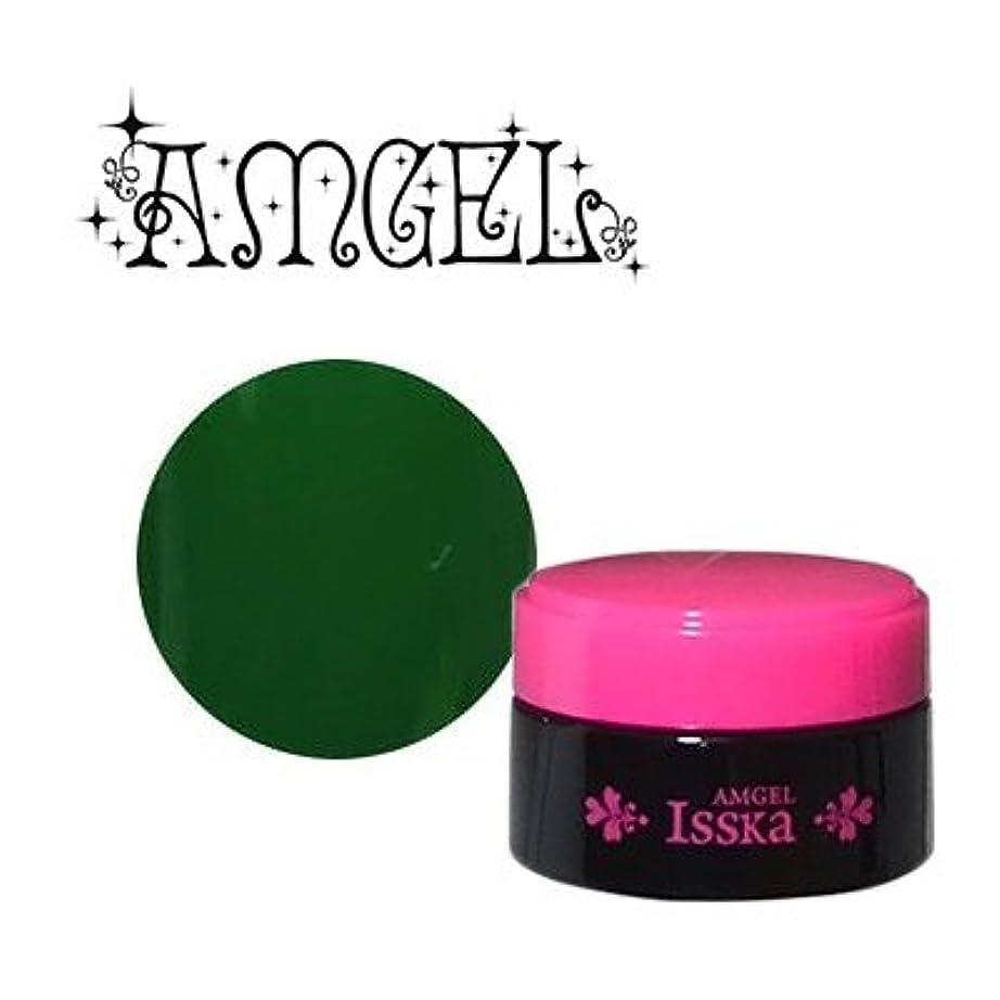 排泄するもろい請求可能ジェルネイル カラージェル アンジェル Isska カラージェル AGI-C14M フラングリーン 3g