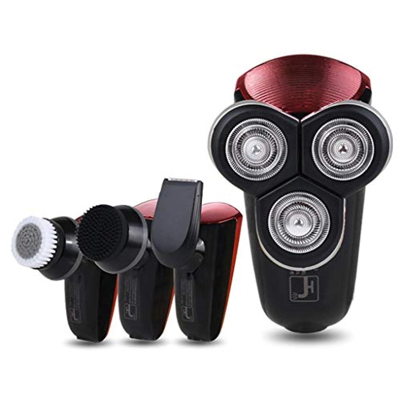 ネクタイ首打倒コードレスカミソリ、多機能メンズコードレスビアードトリマー/ヘアカット/クレンジング/コーナートリム、ギフト