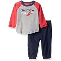 Nautica Sets (KHQ) (RJ7QG) Kids and Baby 2 Pieces Tee Pants