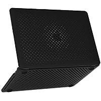 MacBook Pro 13 ケース AndMesh メッシュケース 13 インチ ゴム足 放熱対策 |ブラック 黒 AMMBC101-BLK [対応モデル:A1706/A1708 2016年/2017年 (Touch Bar有り無し両対応)]