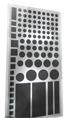 LightDims オリジナル減光シール - ルーター、電子機器、電気製品等用LED減光シール 50〜80%減光(最小限包装)