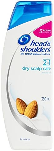 Head & Shoulders Dry Scalp 2in1 Anti-Dandruff Shampoo & Conditioner 350ml