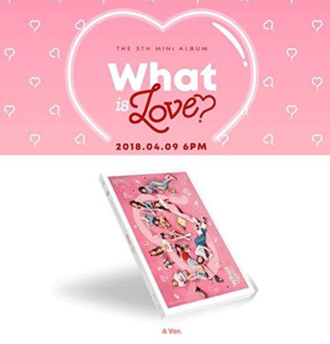 Aバージョン / TWICE ミニ5集 アルバム What is Love? トゥワイス JYP ◆初回限定特典 KOKOKOREA限定 【ポスター丸めて発送】