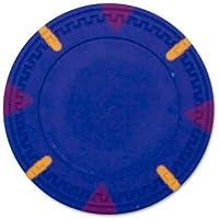 25のBrybellyホールディングスCPGWBLブルー-25ロール - ブルーブランクClaysmithトライアングルとスティックポーカーC
