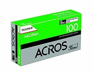 FUJIFILM 黒白ネガフイルム ネオパン 100 ACROS ブローニー 12枚 5本 120 NP 100 ACROS EP 12EX 5