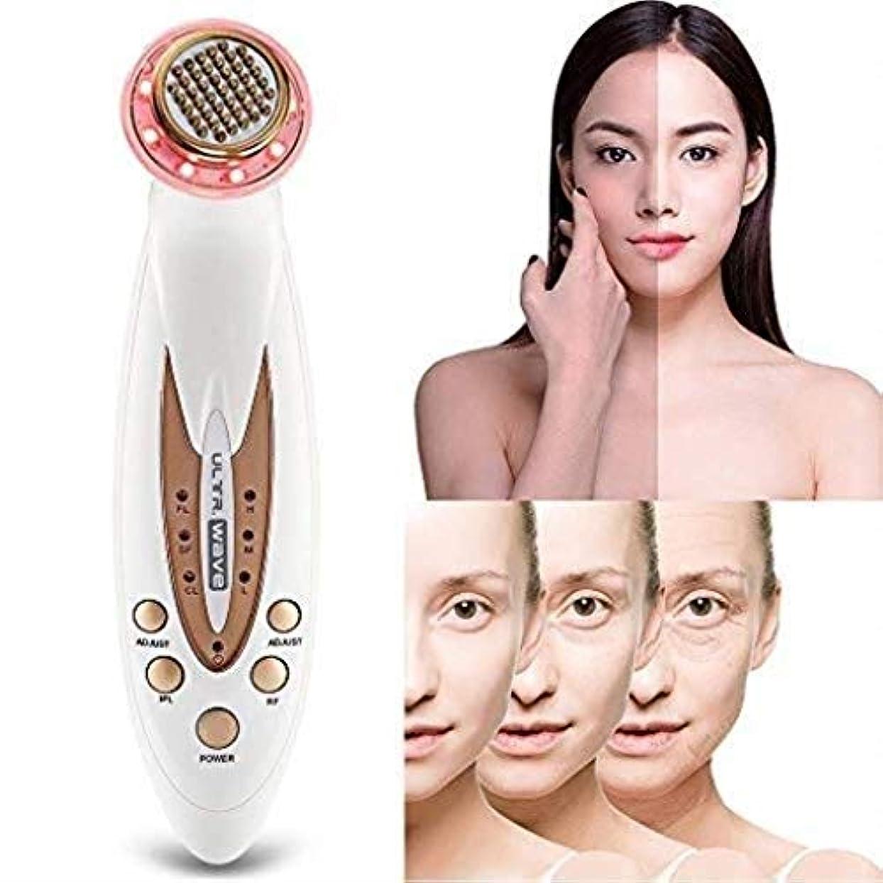 積極的にマージ暴行顔の美容マッサージ器、ポータブルアンチエイジング肌の若返りデバイス、しわ/アンチエイジング/ファーミングスキン