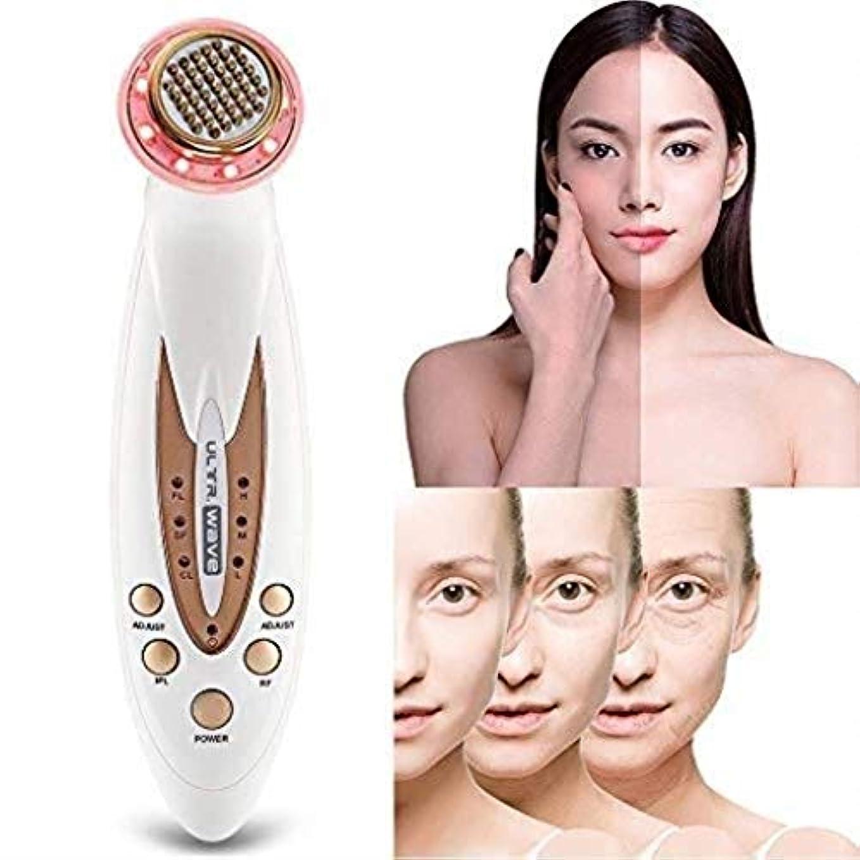 スキップ配管工なんでも顔の美容マッサージ器、ポータブルアンチエイジング肌の若返りデバイス、しわ/アンチエイジング/ファーミングスキン