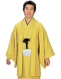 着物 きもの 羽織 メンズ 男性 単衣 色無地 身丈 140cm 144cm