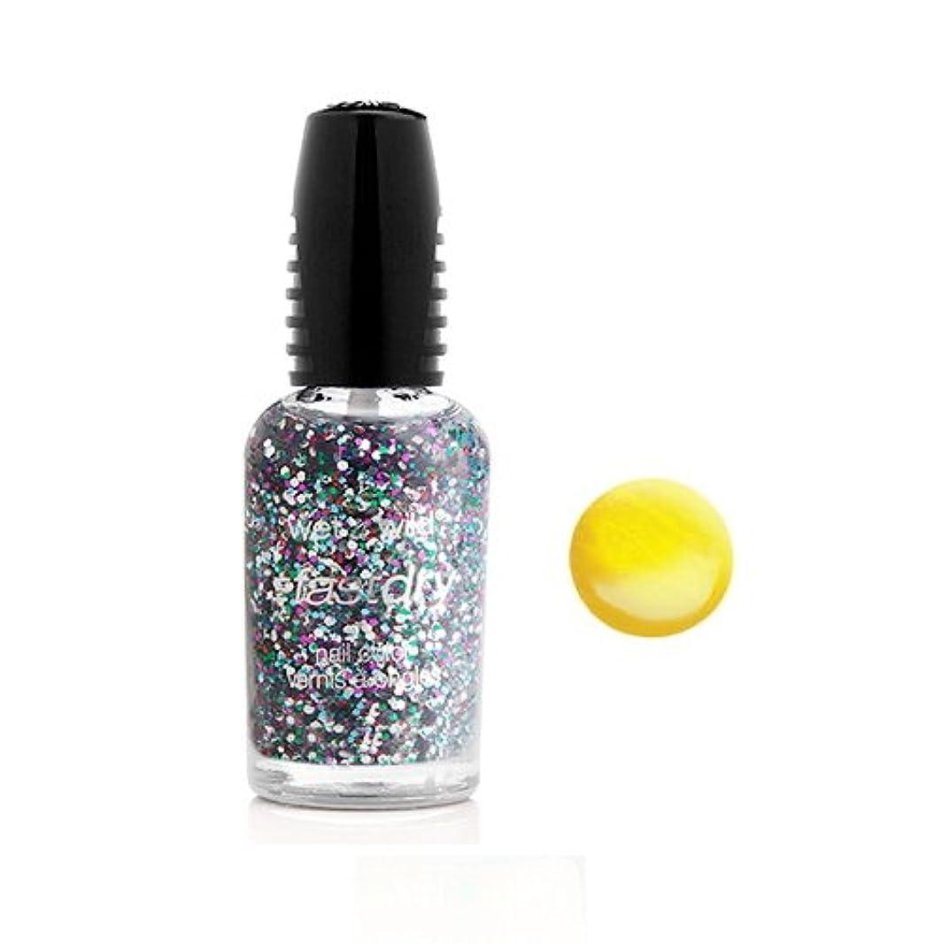 ホーン慢な灌漑(6 Pack) WET N WILD Fastdry Nail Color - The Wonder Yellow (DC) (並行輸入品)