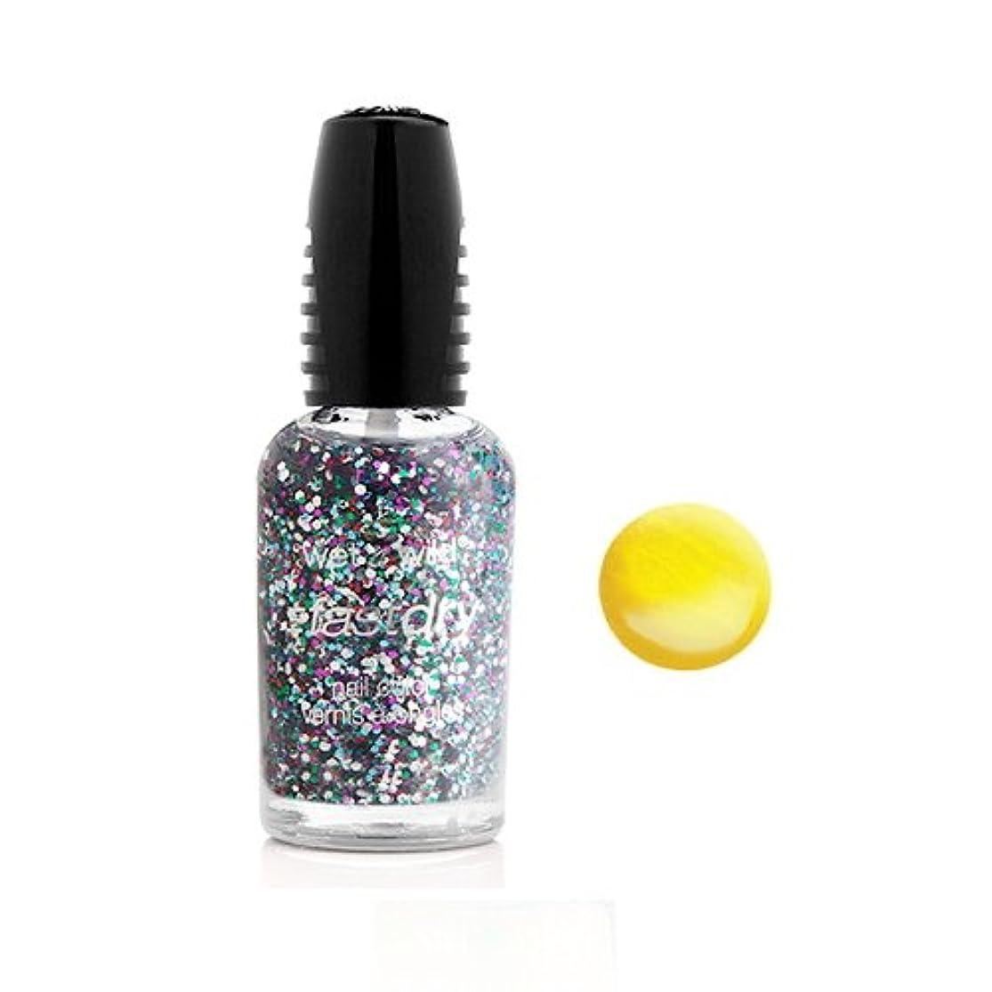 複雑でない仮装自分のWET N WILD Fastdry Nail Color - The Wonder Yellow (並行輸入品)