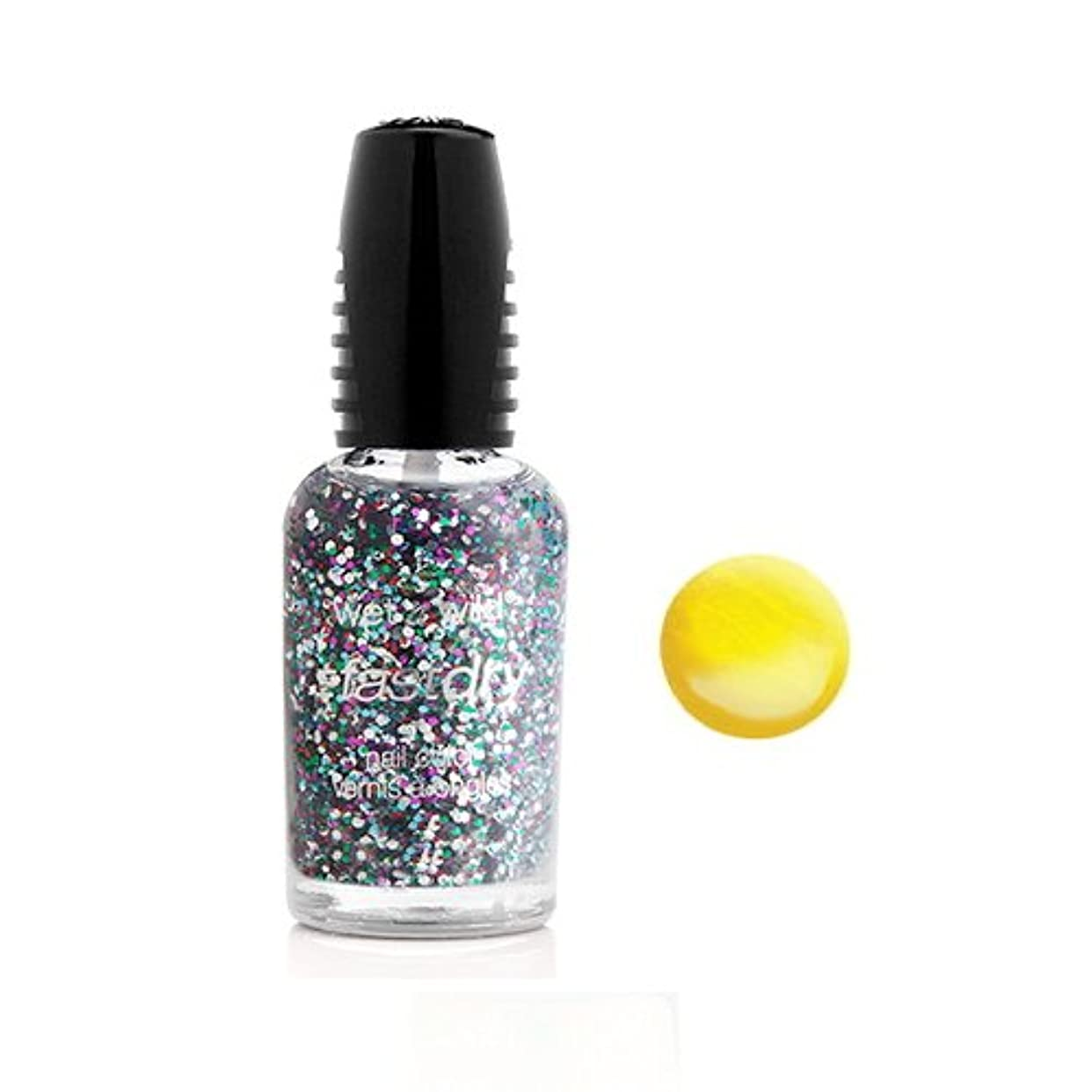 ビルマ死傷者珍しいWET N WILD Fastdry Nail Color - The Wonder Yellow (並行輸入品)