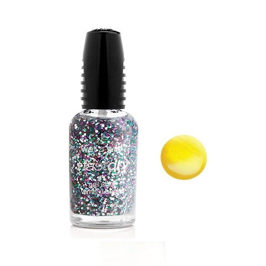 気づかない熱帯の肥料WET N WILD Fastdry Nail Color - The Wonder Yellow (並行輸入品)