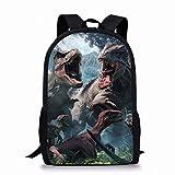 学校のキャンプ旅行のために色とりどりのデイパックバックパックスクールバッグ - 漫画ポリエステル3dプリントバックパック - サイズ:17x11x5inch (Color : 03)