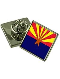 アリゾナ州フラグラペルピンバッジ 18 mm ギフトポーチを選択します