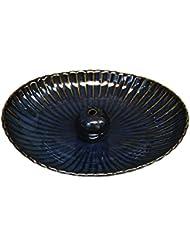 海鼠 楕円皿 日本製 製造?直売 お香立て お香たて 陶器 少し深めな香皿
