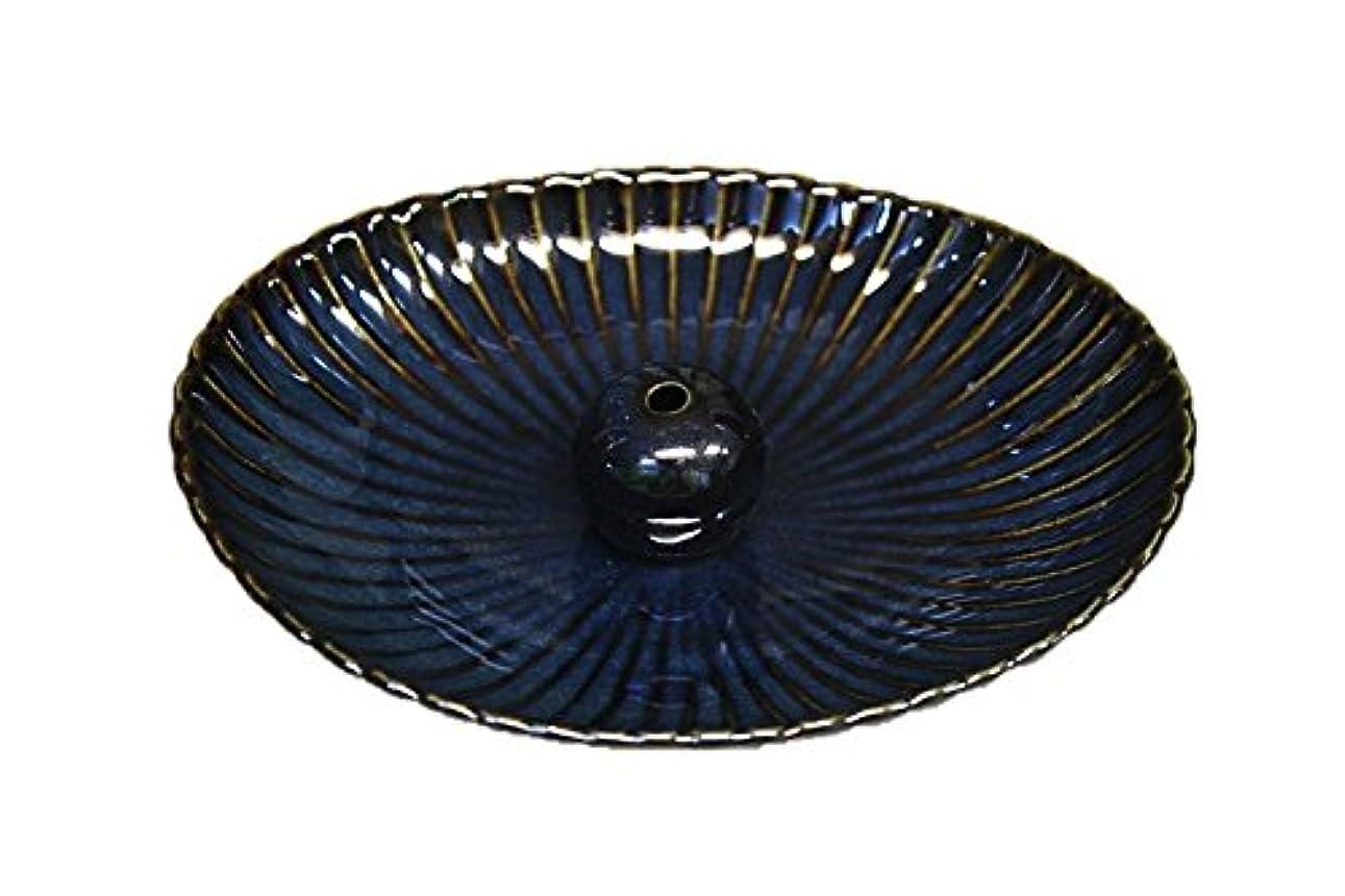 まっすぐアルバム血まみれ海鼠 楕円皿 日本製 製造?直売 お香立て お香たて 陶器 少し深めな香皿