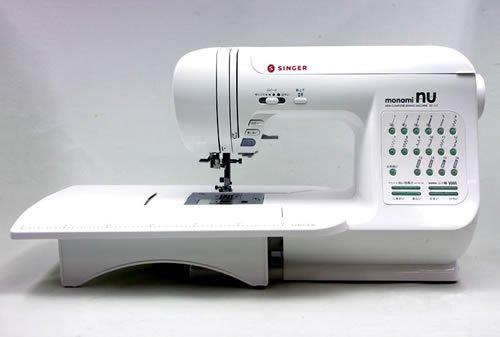 シンガー コンピューターミシン モナミヌウ「SC117」(SC100/SC107の最新モデル)