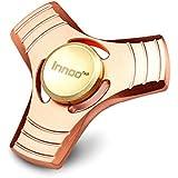 Innoo Tech ハンドスピナー 赤銅 4~7分回転 品質保証 ベアリング取り外し可 ノイズ低減 ストレス解消  ADHDに適用