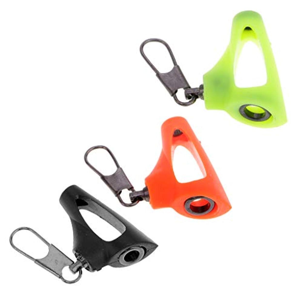 アラブサラボ習字代表するD DOLITY 3個 釣りシンカースライド スナップ付 ロック コネクタ 魚群探知機 編組線に最適
