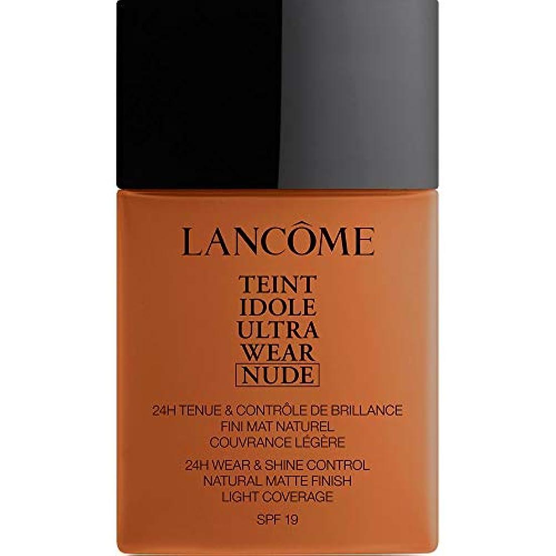 中古頬廃棄する[Lanc?me ] アンブレ - ランコムTeintのIdoleは、超ヌード基礎Spf19の40ミリリットル12を着用します - Lancome Teint Idole Ultra Wear Nude Foundation...