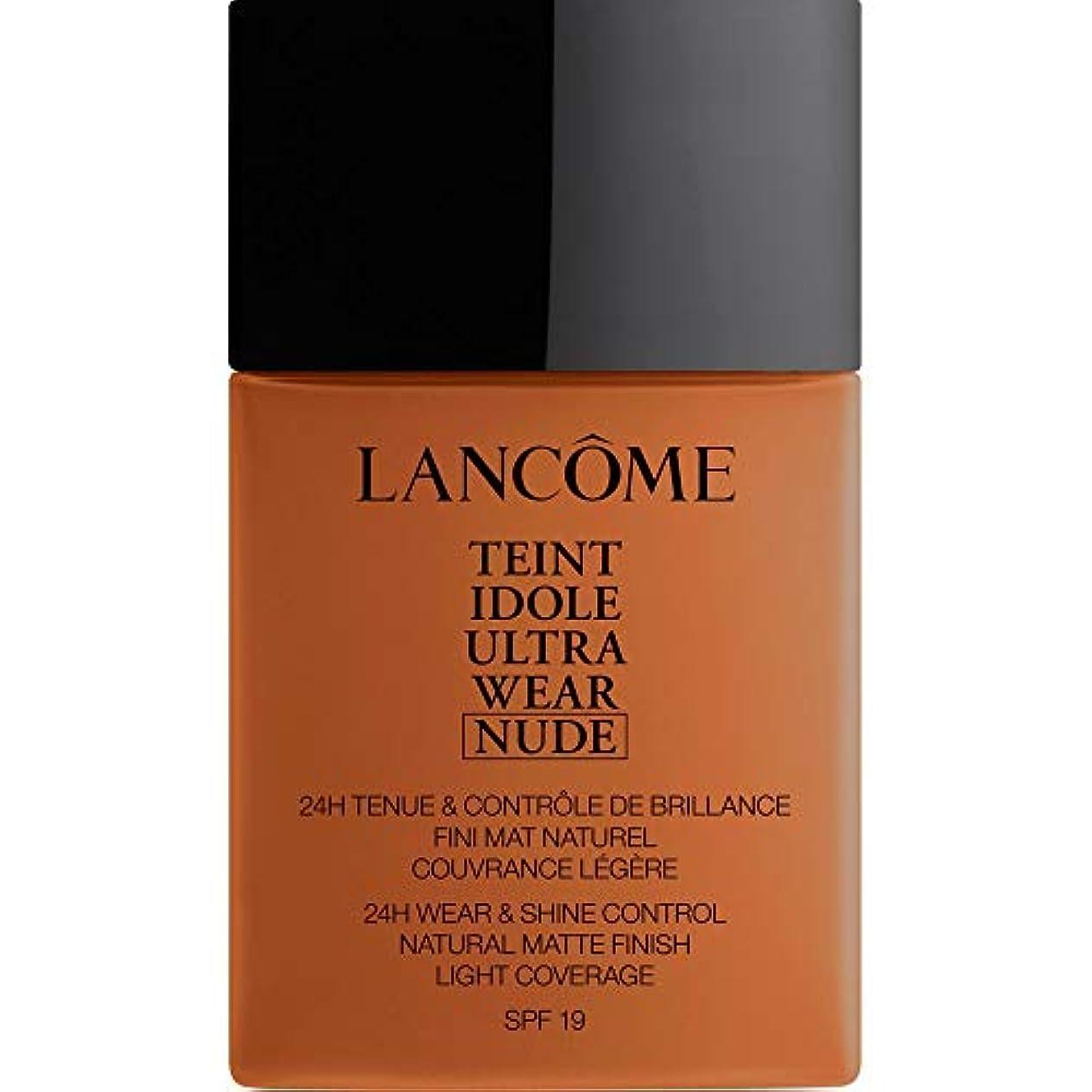 アーティキュレーション喉が渇いたカレッジ[Lanc?me ] アンブレ - ランコムTeintのIdoleは、超ヌード基礎Spf19の40ミリリットル12を着用します - Lancome Teint Idole Ultra Wear Nude Foundation...