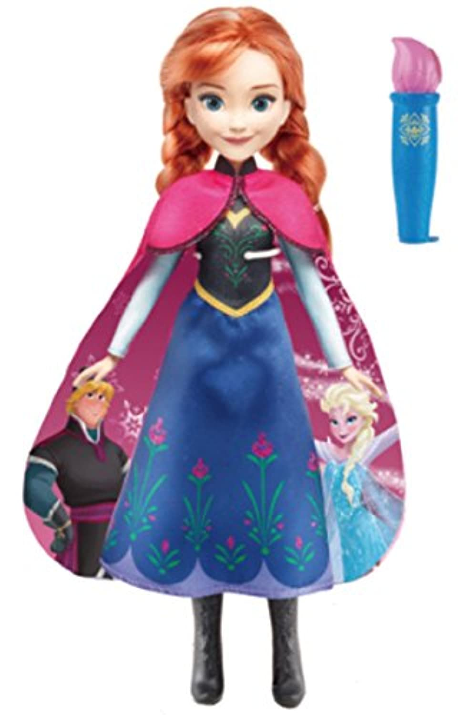 ディズニー アナと雪の女王 ロイヤルフレンズ ドール お水でチェンジドレス アナ