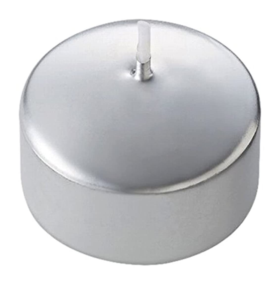 ストラトフォードオンエイボン軽食温かいキャンドル ハッピープール(カラーアトリエ) 「 シルバー 」 24個入り 72800100SI