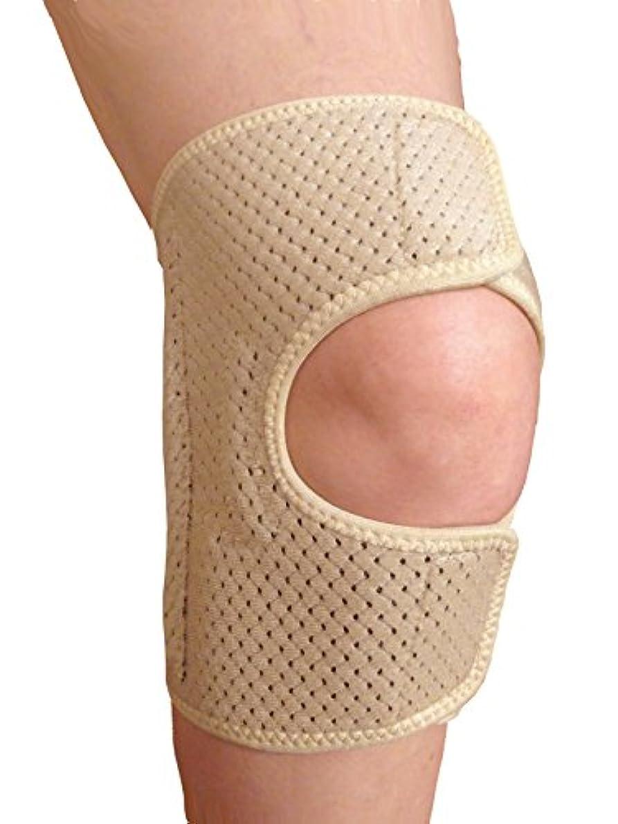 リベラル移住する管理する【NEW】膝痛対策 変形性膝関節症用サポーター 医療用品質 ニー?ホールド M(膝上10cm周径 38cm~42cm)(左右兼用) ベージュ