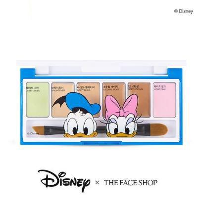 [ザ・フェイスショップ] THE FACE SHOP [コンシーラー マルチ-パレット = ディズニーコラボレーション] (Concealer Multi-Palette = Disney Collaboration) [海外直送品]