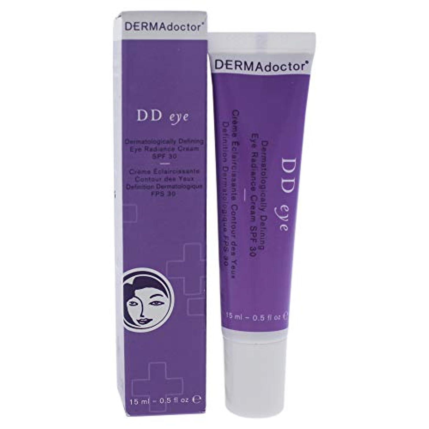 白い運動エントリDD Eye Dermatologically Defining Radiance Cream SPF 30