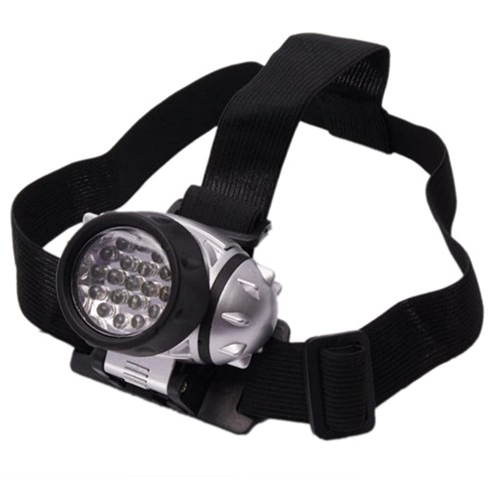Outdoor Camping 19led Enhanced Headlamp (Black) by Bluedot Trading