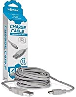 Tomee Wii U Pro Controller Charge Cable,12-Feet [並行輸入品]