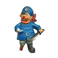 バイキング海賊デンマーク3D冷蔵庫用マグネットトラベルステッカーお土産、ホーム&キッチン用装飾デンマーク冷蔵庫用マグネット中国から