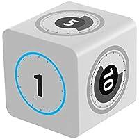 ジャイロスコー iNepo プセンサーのチップが付く子供勉強用のタイマーであり、調理場、ヨーガ、バーベキュー、会議、スピーチ、昼休み等の場合でもタイマーとしても使える (cube timer)