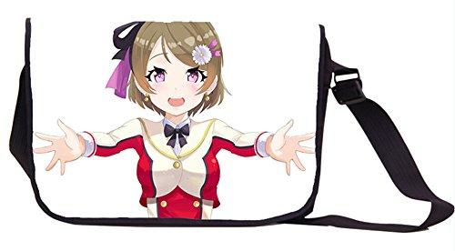 Siawasey Anime Love Live 。漫画コスプレメッセンジャーバッグバックパックショルダーバッグ