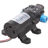 産業ドローン自作等 12Vモーター仕様の高圧電動ポンプ 5L/毎分 0.8Mpa