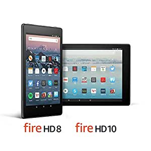 【セット買い】Fire HD 8 16GB + Fire HD 10 32GB