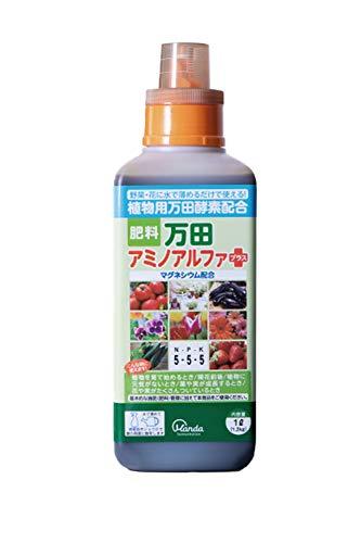 万田アミノアルファ プラス 1L 植物用...