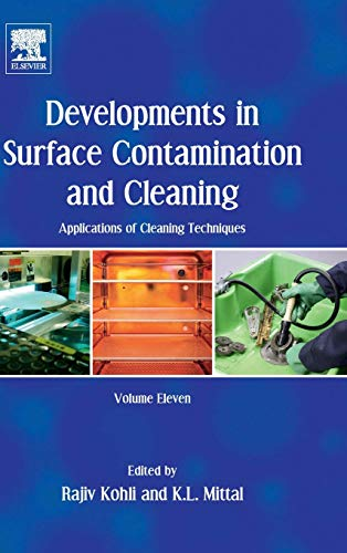 Download Developments in Surface Contamination and Cleaning: Applications of Cleaning Techniques: Volume 11 0128155779