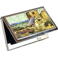The Old Mill by Vincent Van Goghビジネスカードホルダー