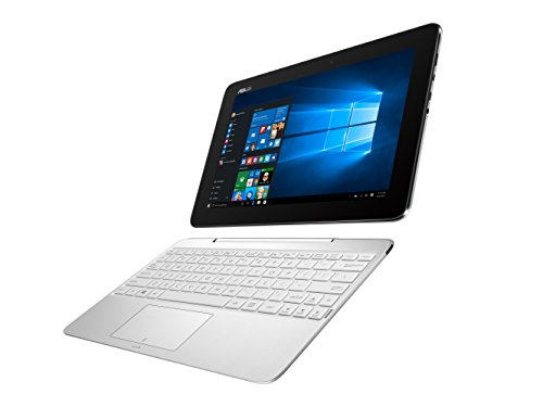【Amazon.co.jp限定】ASUS 2in1 パソコン T100HA/Win10/10.1型/Atom x5-Z8500 /4Gメモリ/ eMMC64GB/ホワイト/T100HA-FU026T