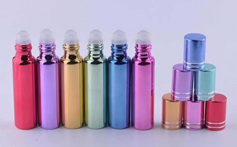 趣味アラーム南極ShopXJ 香水 詰め替え アトマイザー 携帯 持ち運び ミニ サイズ 5ml ロール オン タイプ (ピンク)