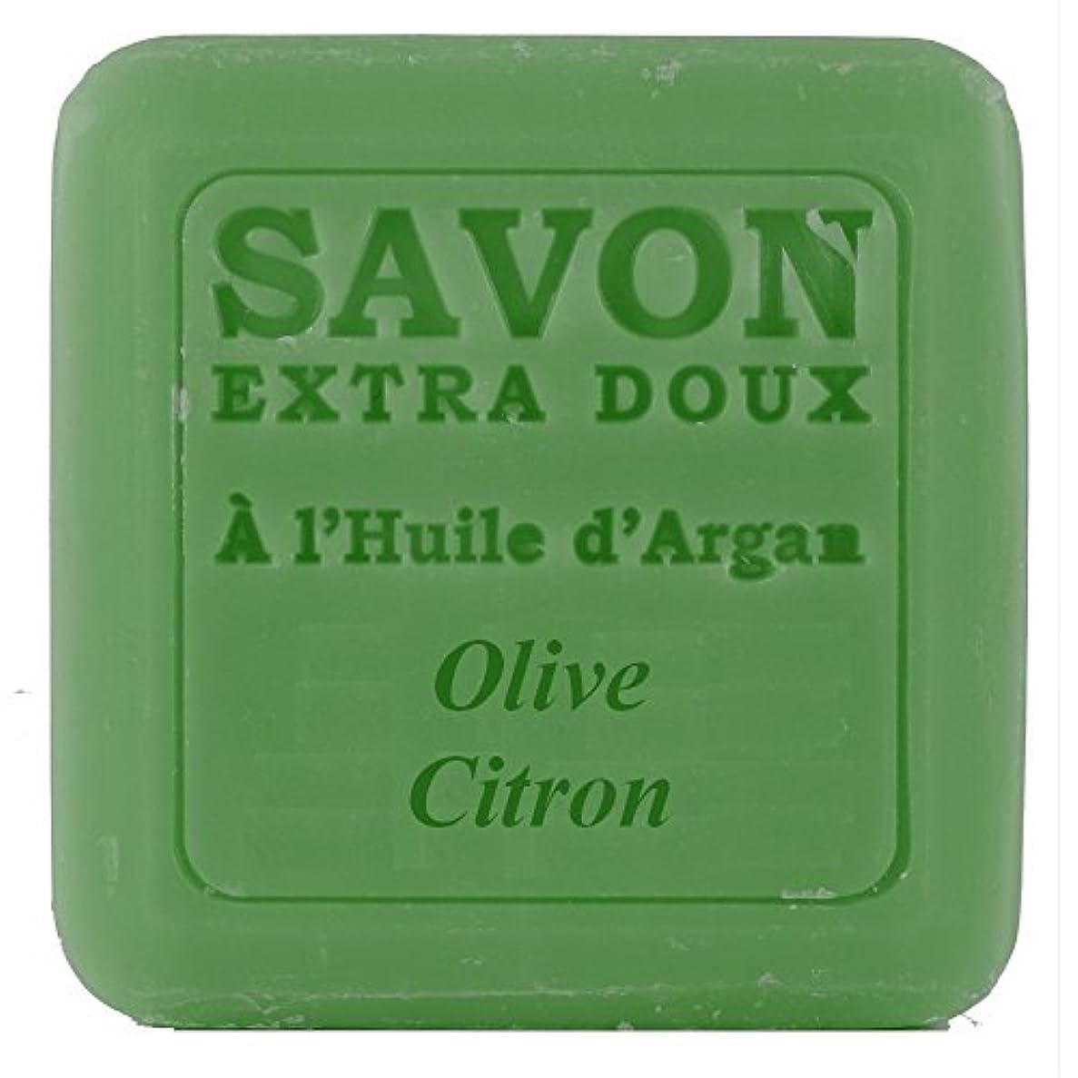原子直径挑むPlantes&Parfums [プランツ&パルファム] アルガンオイルソープ100g オリーブレモン