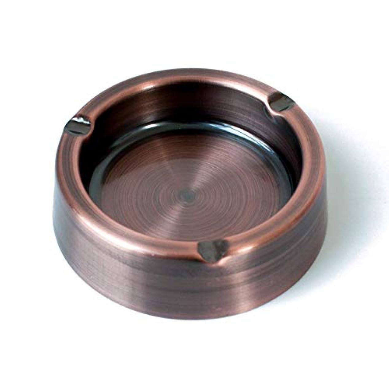 戦い吸い込む例示するタバコヴィンテージメタル灰皿用ステンレススチールクラシック灰皿 (Size : 5.9 in)