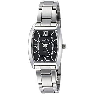 [アリアス]ALIAS 腕時計 アナログ アマルフィ 3気圧防水 ブレスレット ブラック A36L08 レディース