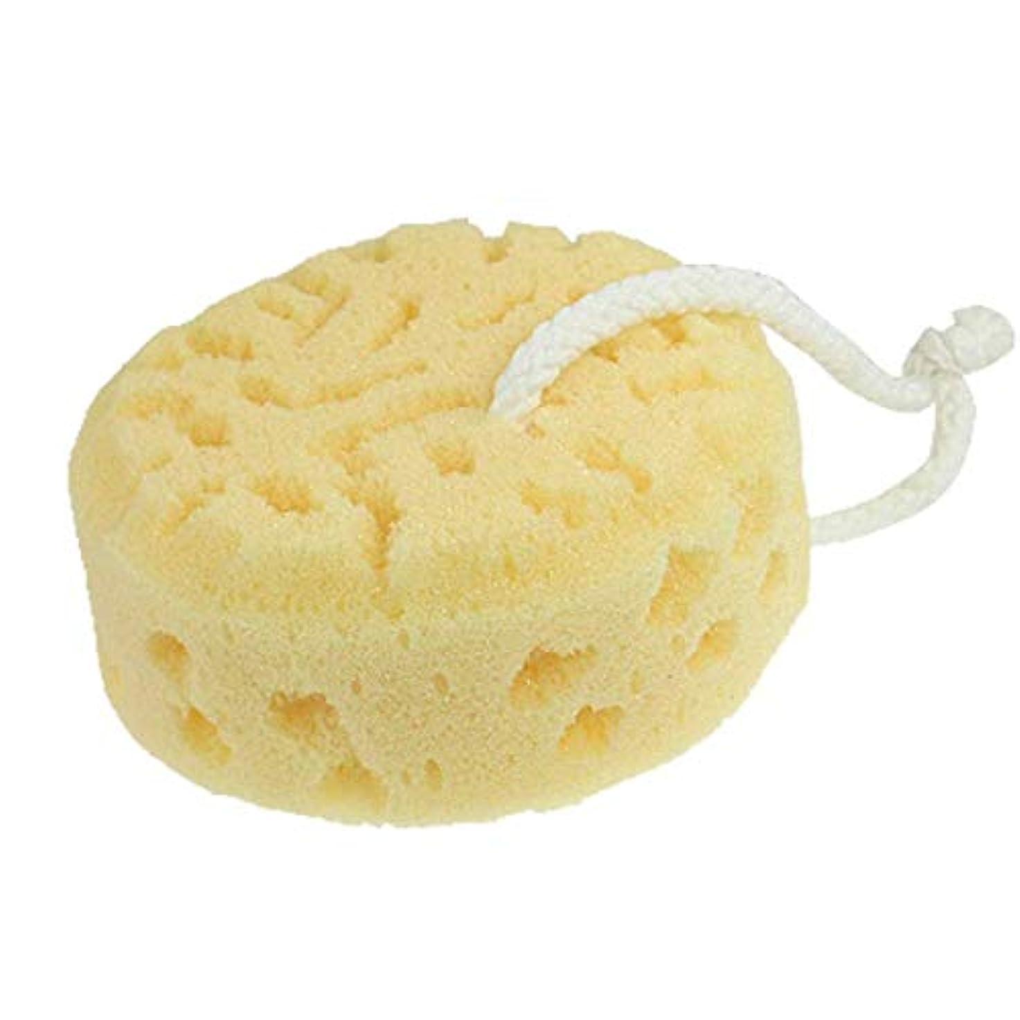 素晴らしいピュー後ろにUotyle ボディスポンジ 泡立ち ふわふわ お風呂用 ボディ用ブラシ 肌にやさしい 浴用スポンジ