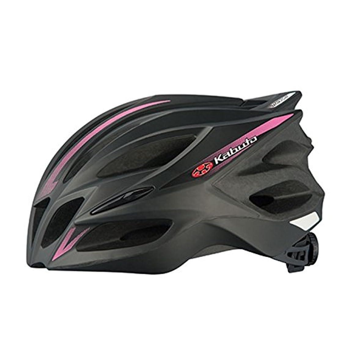 生除外する印象的OGK KABUTO(オージーケーカブト) ヘルメット TRANFI マットブラックピンク サイズ:L/XL